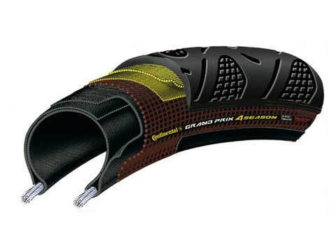 Continental: Grand Prix 4 Season DuraSkin Vectran Tyre