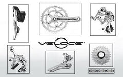 Campagnolo: Veloce Power Torque 10X  Silver Groupset