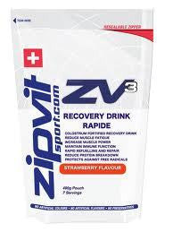 Zipvit: ZV3 Recovery Drink Rapid 490g Pouch - Strawberry