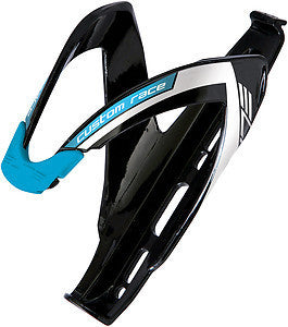 Elite: Custom Race Bottle Cage - Black / Blue
