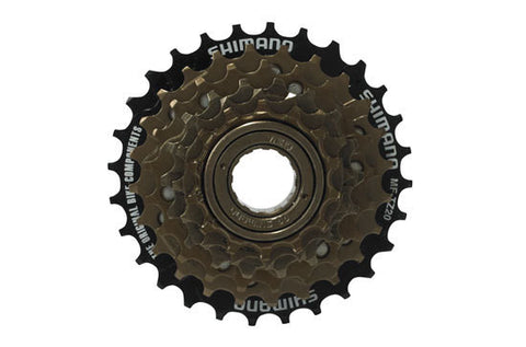 Shimano : MF-TZ21 7-speed multiple freewheel, 14-28 T