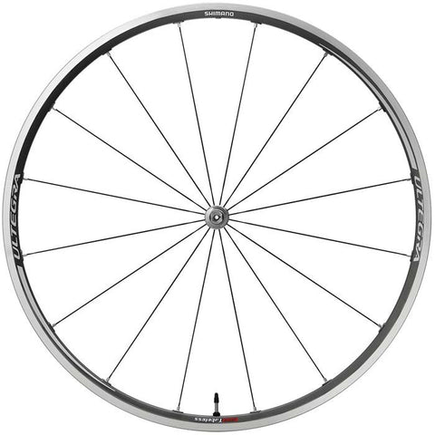 Shimano : WH-6700 Ultegra clincher or tubeless wheel, front, grey