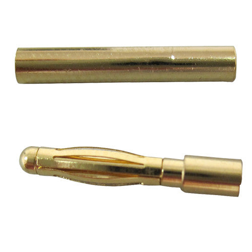 Gold plated quick-release connectors