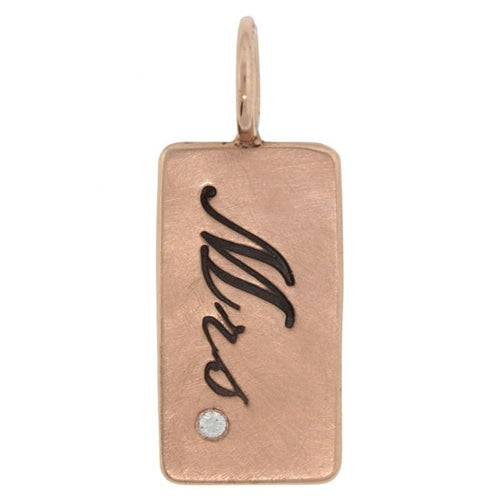 Heather B. Moore - Mrs. 14k Rose Gold ID Tag