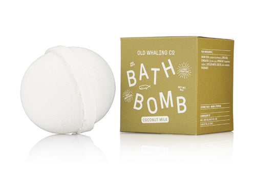 Old Whaling Co Coconut Milk Bath Bomb