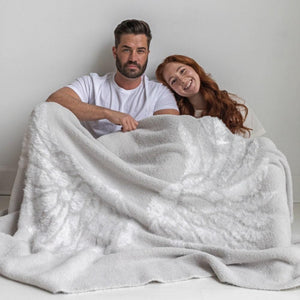 Big Lovie - Dream Collection Blanket - Silver Wings