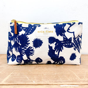 Erin Flett - Canvas Bag - Navy Deep Forest