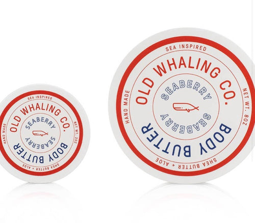 Old Whaling Co Seaberry Body Butter 2oz
