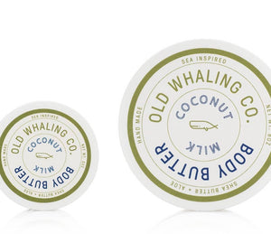 Old Whaling Co Coconut Milk Body Butter