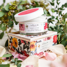 Load image into Gallery viewer, Lollia Body Butter - Always in Rose