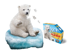 Load image into Gallery viewer, Puzzle Jr - I AM Lil POLAR BEAR 100 pc