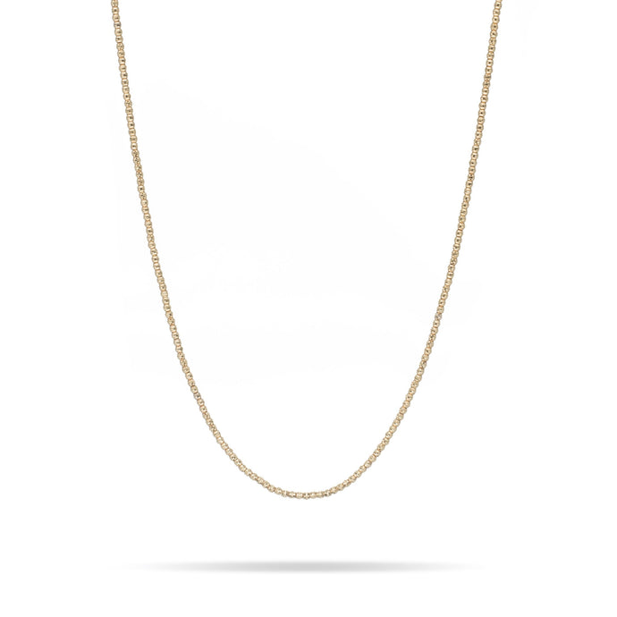 Adina Reyter Bead Chain Necklace 14k Yellow Gold