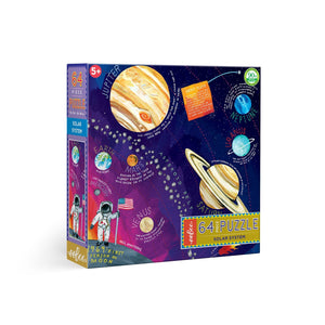 Puzzle - Kids Solar System - 64 pieces