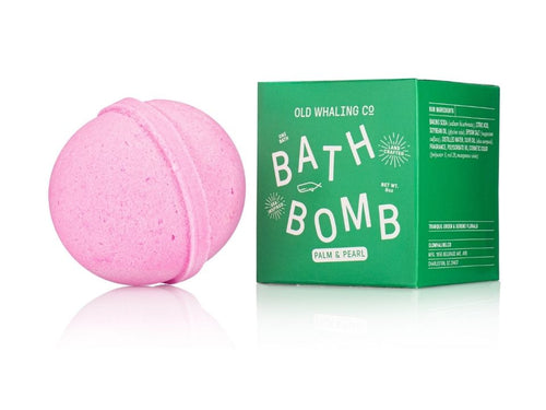 Old Whaling Co Palm & Pearl Bath Bomb