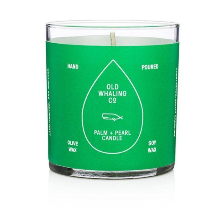 Old Whaling Co Palm & Pearl  7 oz. Candle