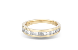 Adina Reyter Small Heirloom Baguette Band