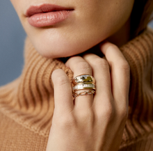 Load image into Gallery viewer, Adina Reyter Pave Interlocking Link Ring