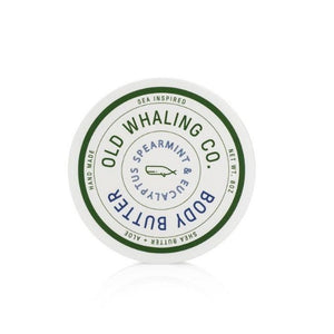 Old Whaling Co Spearmint & Eucalyptus Body Butter
