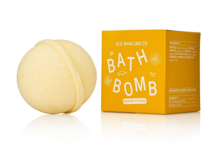 Bath Bomb winter citrine