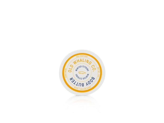 Old Whaling Co Winter Citrine Body Butter
