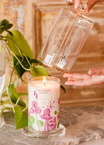 Lollia Glass Candle with Cloche - This Moment