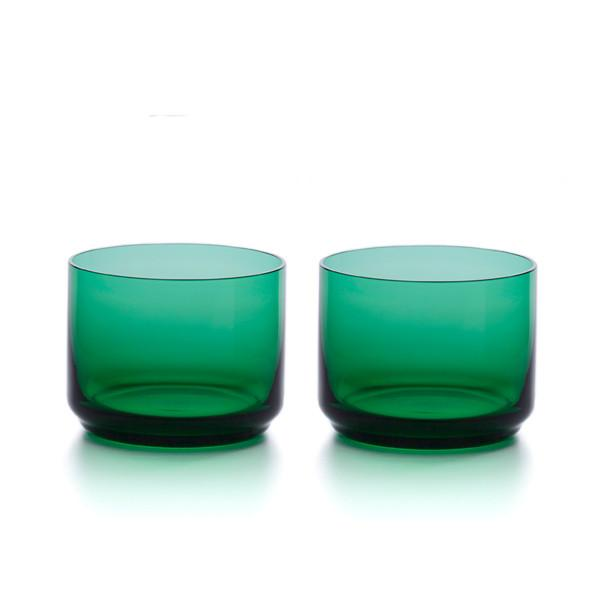 Small Tumblers - Set of 2 - Lantern Green