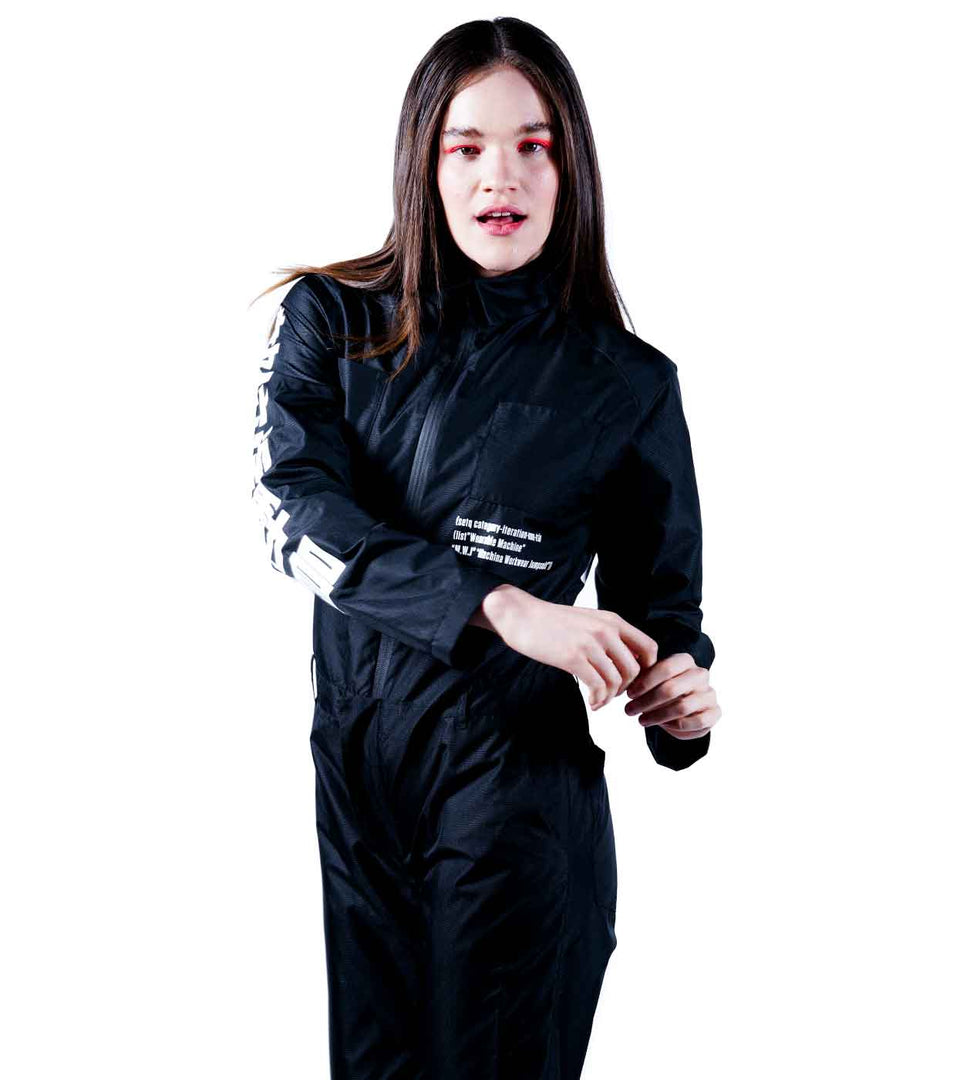 women fashion tech jumpsuit