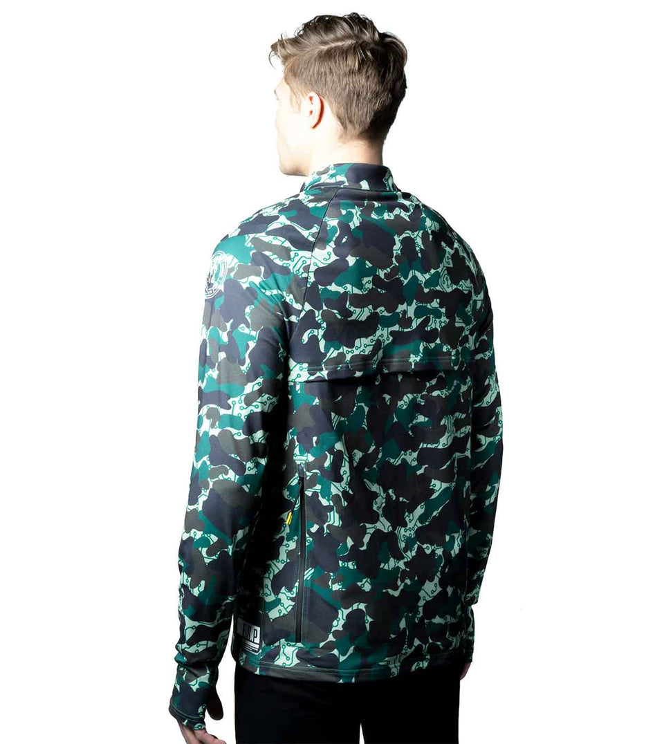 Men's camo casual jacket