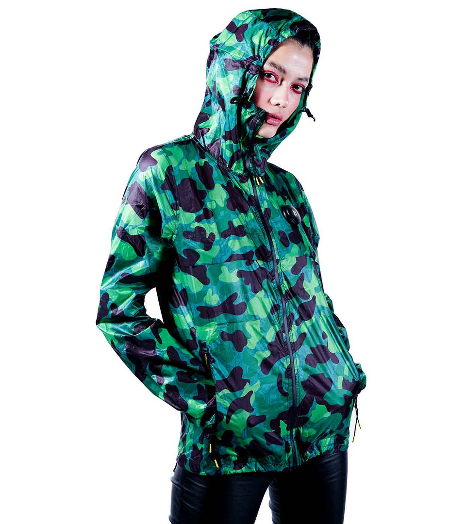 GRASSHOPPER CAMO WINDBREAKER