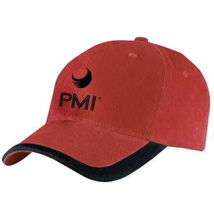 PMI Red/Black Cap