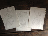3 drawings for 3 lucky orders