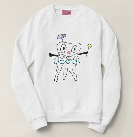 Limited Edition 3-Dimensional Tooth Fairy Sweatshirt