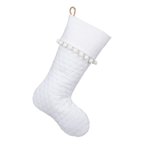 White Christmas Collection - Stocking C