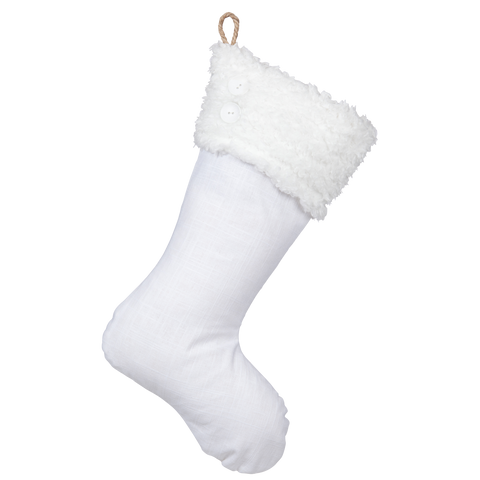 White Christmas Collection - Stocking G