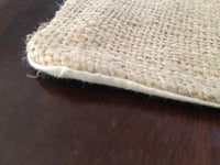 Personalized Burlap Place Mats Set
