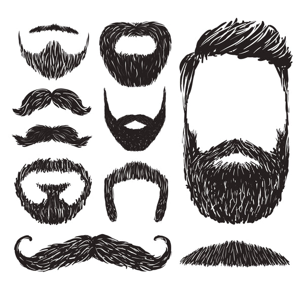 Various beard styles