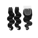 Premium 2 Bundles Deal with Closure - Bidiana Hair Extensions