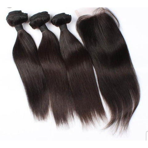 Brazilian 3 Bundles deal + Closure