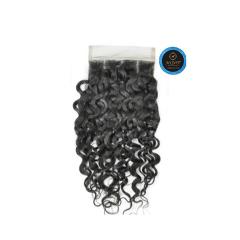 Island  Queen Malaysian curls closure - Bidiana Hair Extensions