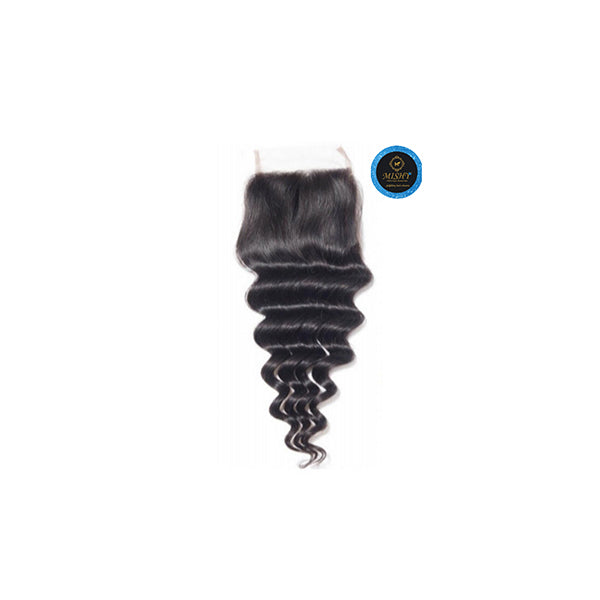 Island  Queen deep wave/water wave Closure - Bidiana Hair Extensions