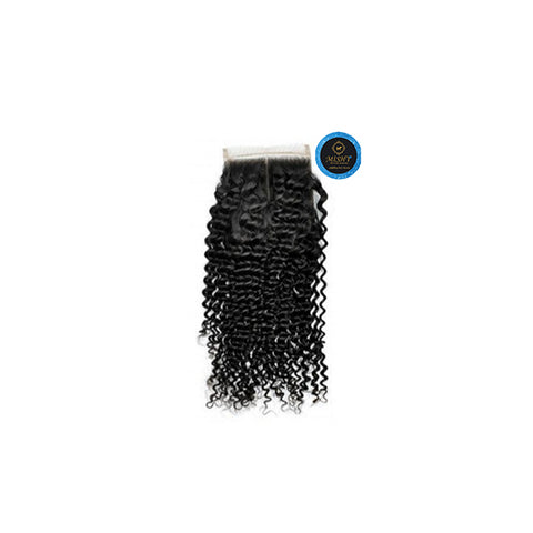 Island  Queen kinky  curls closure - Bidiana Hair Extensions