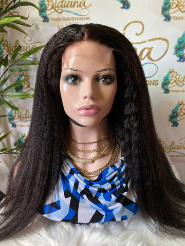 Kinky Straight - Bidiana Hair Extensions