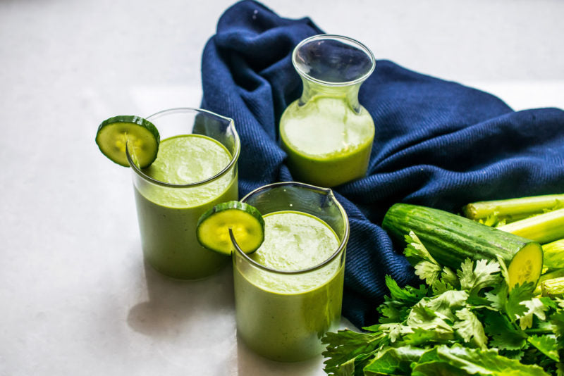Green Ketogenic Vegetable Smoothie For Weight Loss