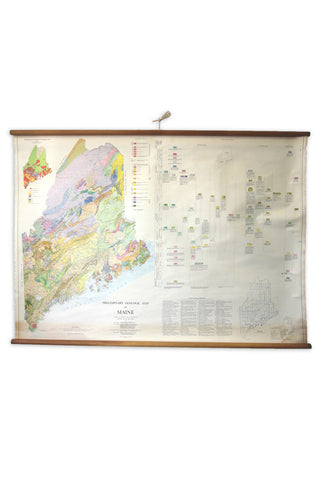 Geologic Map of Maine