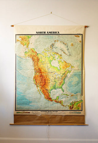 Map of North America 1967