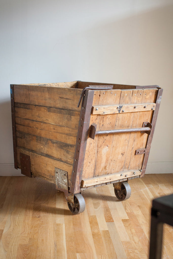 Antique Coal Cart