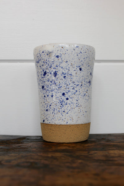 Ceramic To-Go Mug: Speckled 2 - Diamonds & Rust