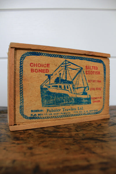Choice Boned Salted Codfish Box - Diamonds & Rust