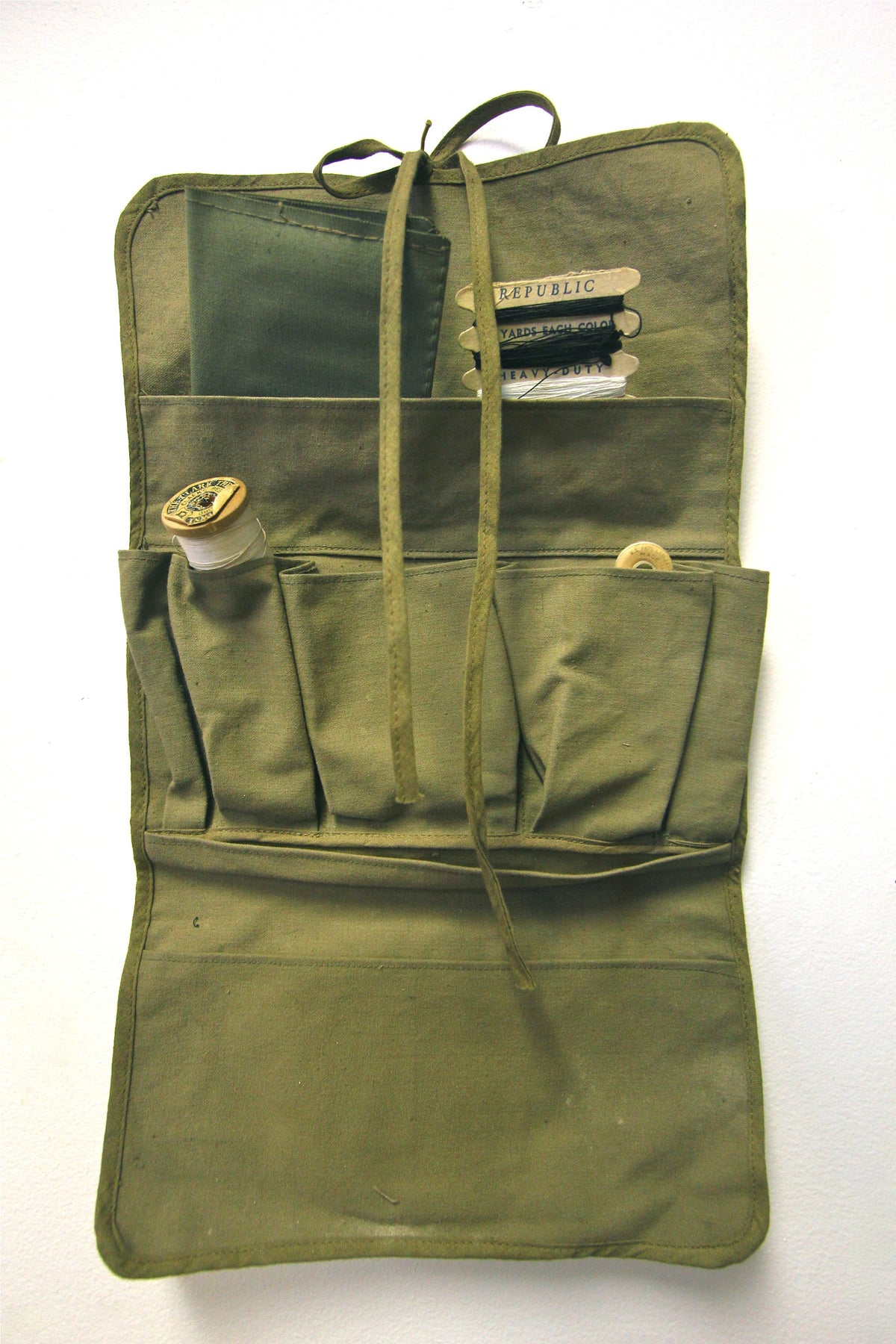 Vintage Military Sewing Kit