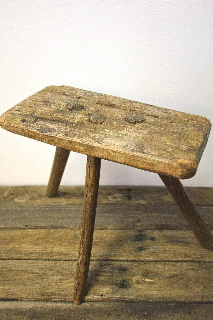 Rustic Foot Stool